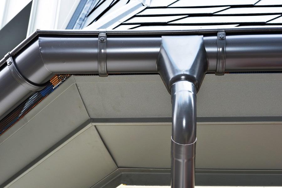 Neuhäuser Qualitätsdächer, Foto: Dachrinne