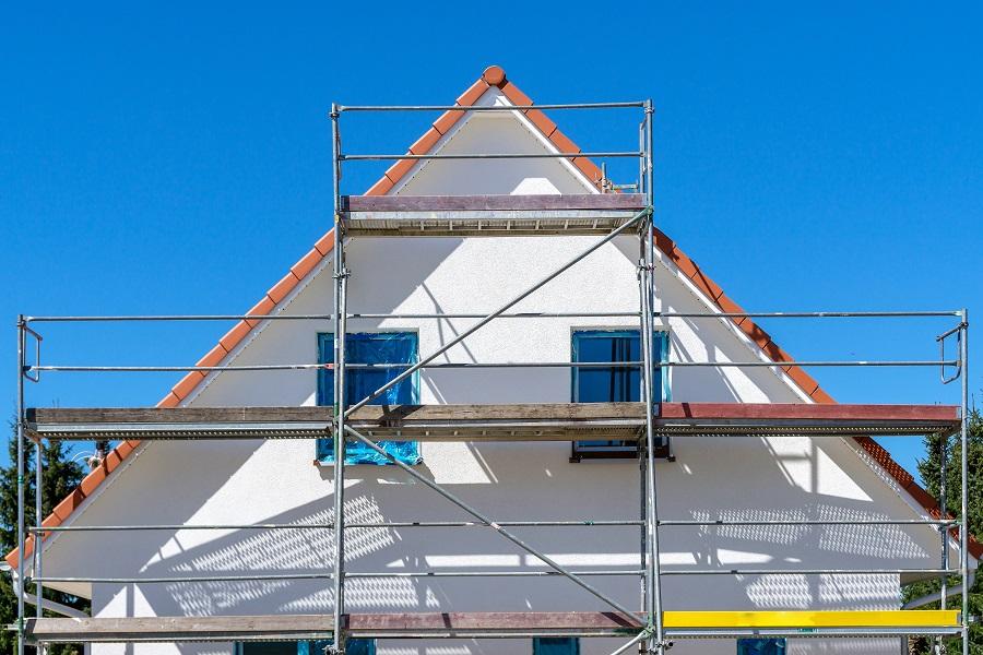 Neuhäuser Qualitätsdächer, Foto: Gerüstbau