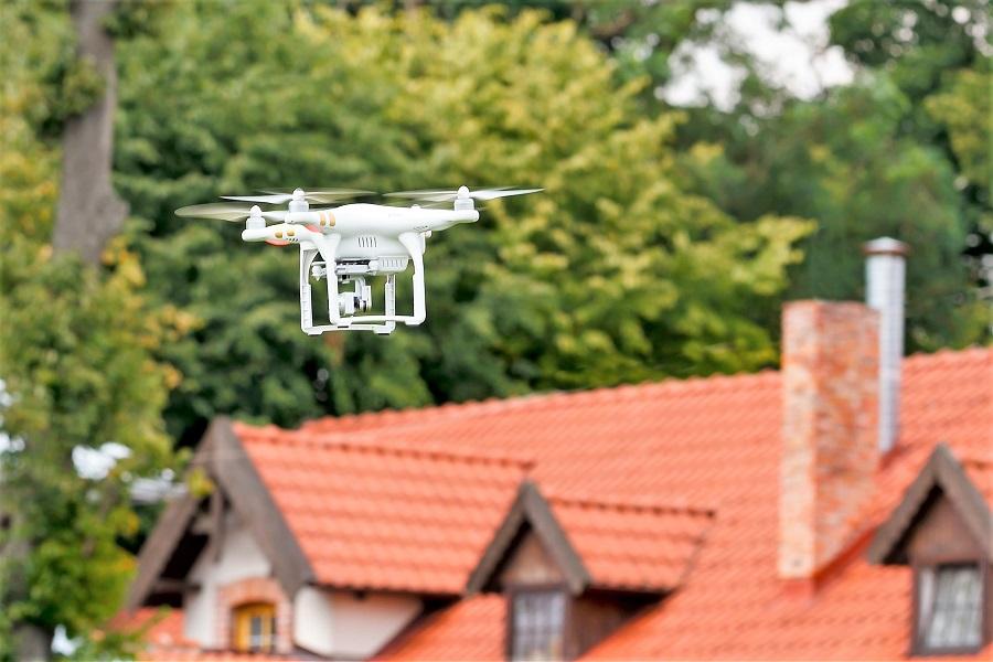 Dach-Drohne