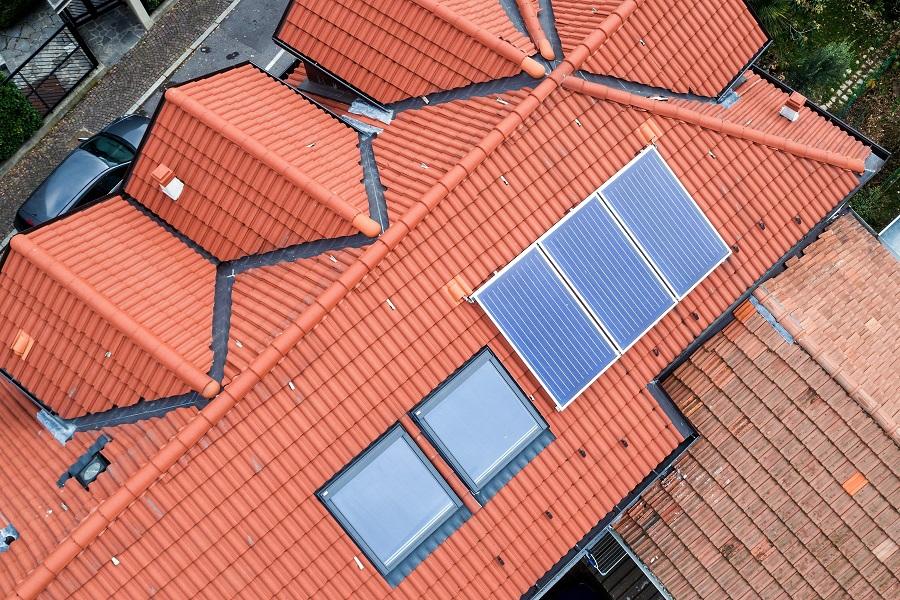 Neuhäuser Qualitätsdächer, Foto: Dach-Drohne